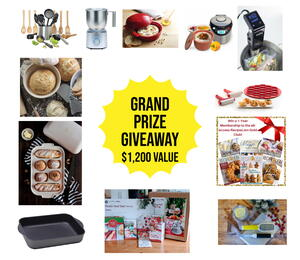 12 Days of Christmas Foodie Grand Prize Giveaway!