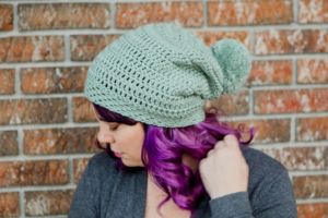 Easy Crochet Slouchy Beanie (North Mountain Slouch)