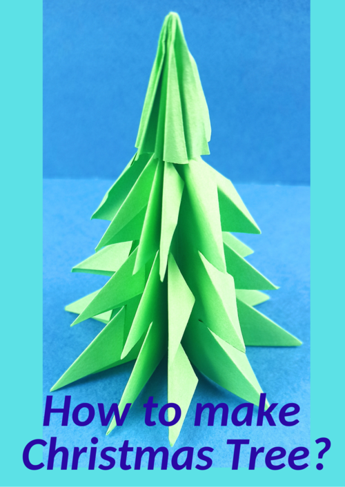 How To Make A Paper Christmas Tree