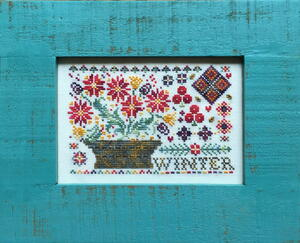 Winter Cross-Stitch Pattern Giveaway