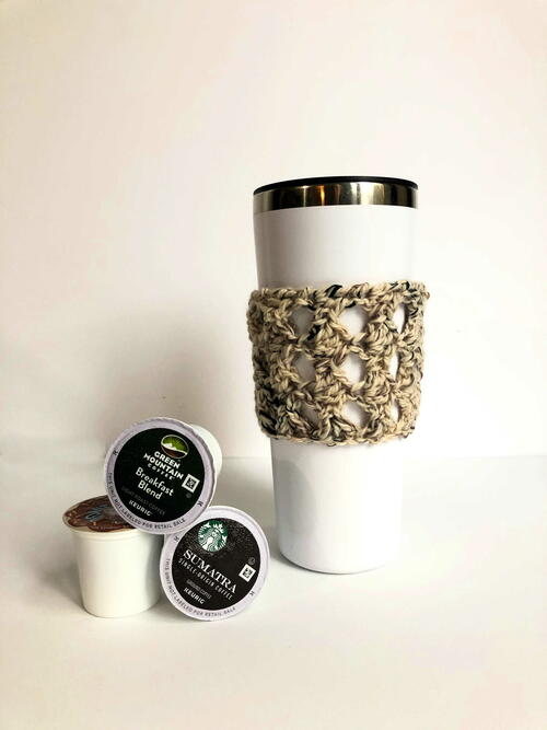 Espresso Chip Coffee Cozy
