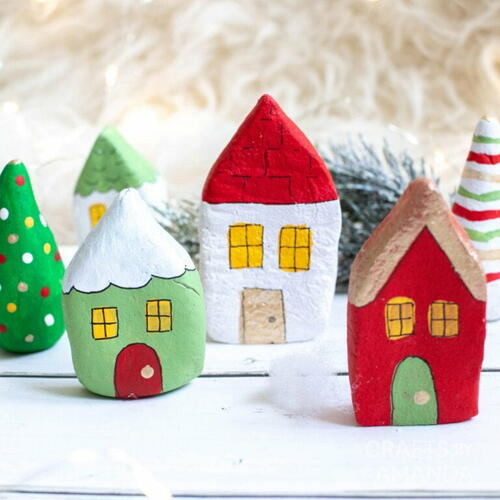 Salt Dough Houses