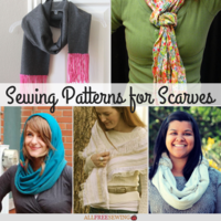 36 Sewing Patterns for Scarves