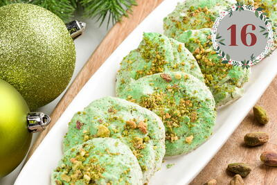 Pistachio Holiday Cookies