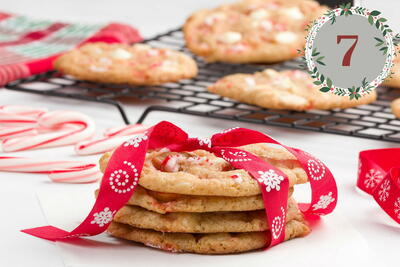 White Chocolate Peppermint Snaps