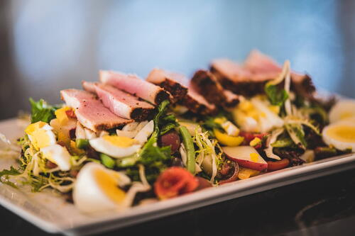 Nicoise Salad with Seared Ahi Tuna