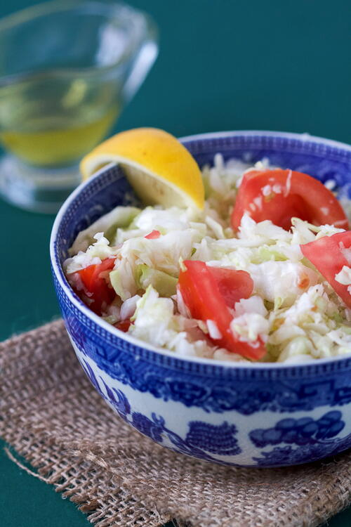 Cabbage And Tomato Salad