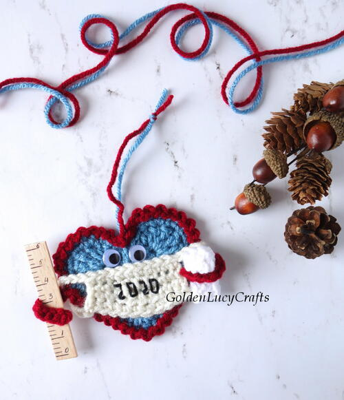 Christmas 2020 Crochet Ornament