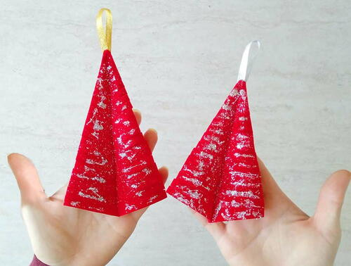 Christmas Tree Ornament In 5 Minutes