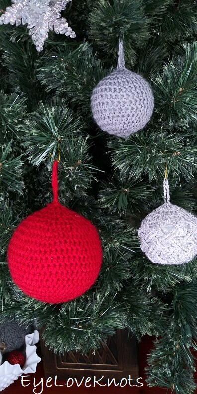 Lightweight Bauble Ornament