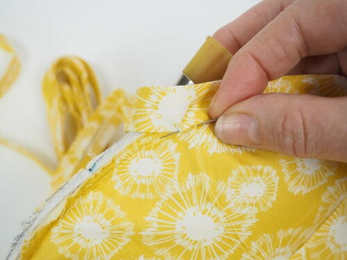 How To Make Perfect Bound Lining In A Bag