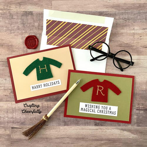 Harry Potter Holiday Card