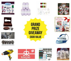 12 Days of Christmas Sleigh of Prizes Grand Prize Giveaway