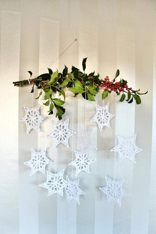 Winter Star Wall Hanging