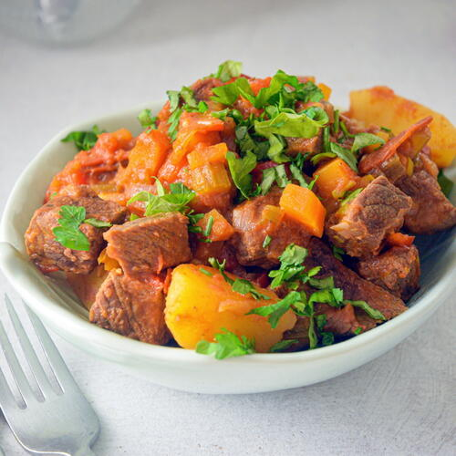Electric Skillet Classic Beef Stew