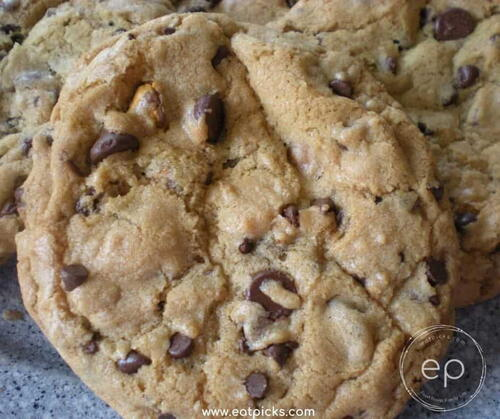 The Best Monster Chocolate Chip Cookies