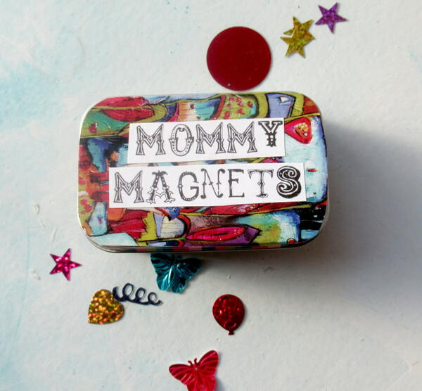 Mommy Magnets Free Printable Altered Altoid Tin