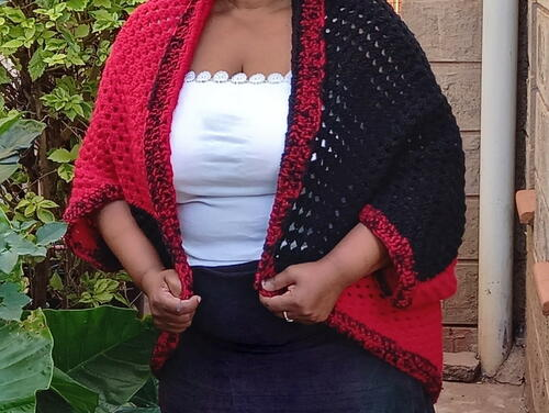 Granny Square Cocoon Cardigan Pattern