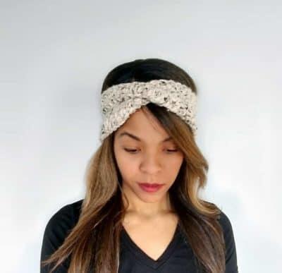 Twisted Turban Headband Ear Warmers