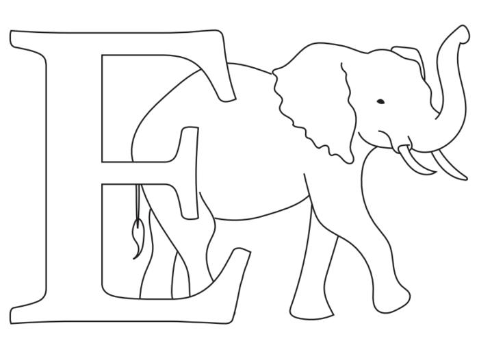 Free Alphabet Coloring Pages PDF FaveCrafts.com