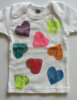Baby's First Valentine's Day Shirt