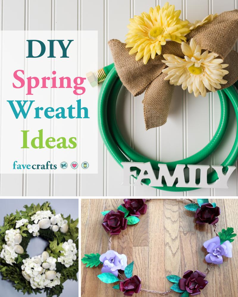 47 Diy Spring Wreath Ideas For 2021