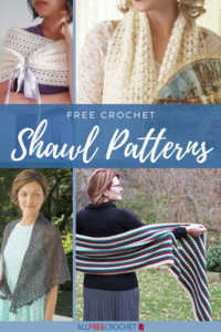 30+ Free Crochet Shawl Patterns