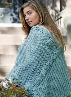 Plus Size Crochet Poncho Pattern