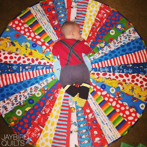 Circle of Wedges Quilt