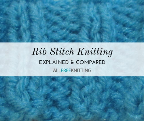 Rib Stitch Knitting