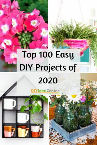 Top 100 Easy DIY Projects of 2020