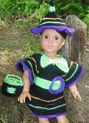Funky Doll Witch Costume