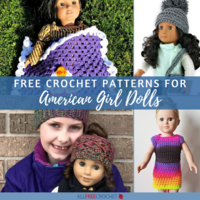 40+ Free Crochet Patterns for American Girl Dolls