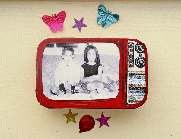Free Printable Altered Altoid TV Screen