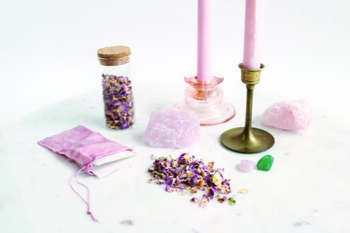 Rose Petal Self-Compassion Spell