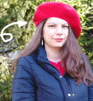 Diy Beret Hat In 20 Minutes