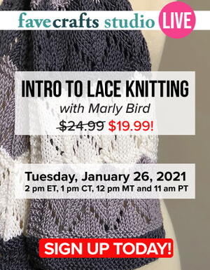 Intro to Lace Knitting with Marly Bird