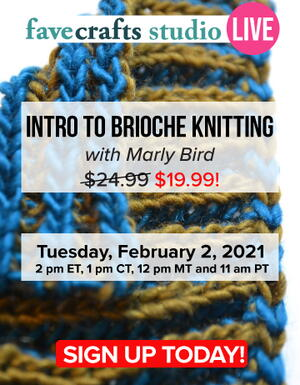 Intro to Brioche Knitting with Marly Bird