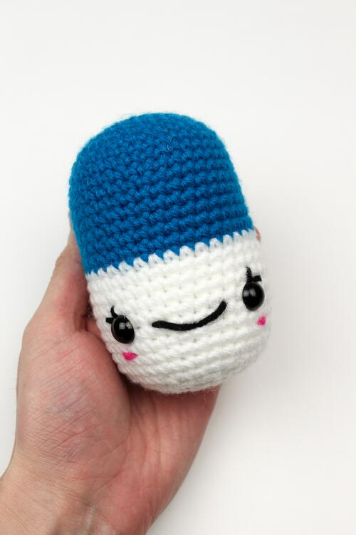 Crochet Happy Pills Pattern