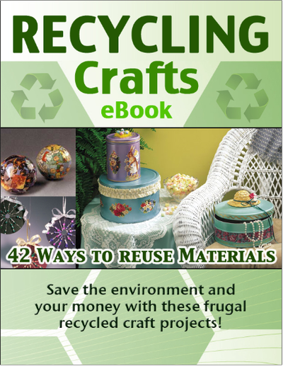 42 Ways to Reuse and Recycle Trash for Crafting