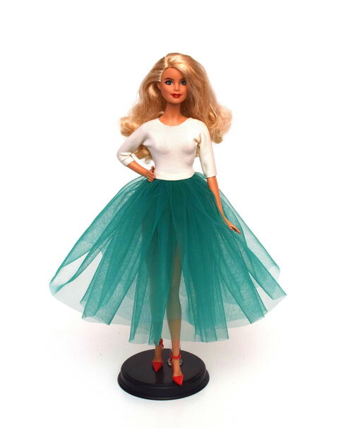 Barbie Tulle Dress Tutorial