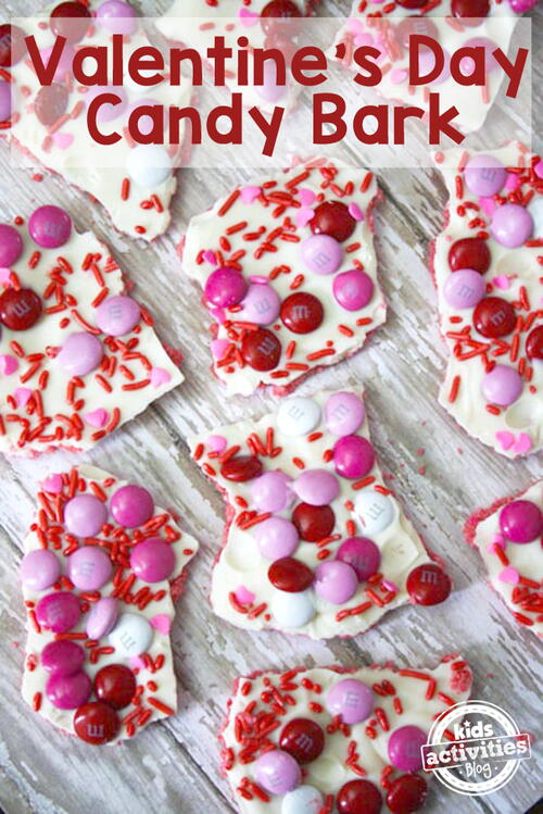 Valentines Day Candy Bark Recipe