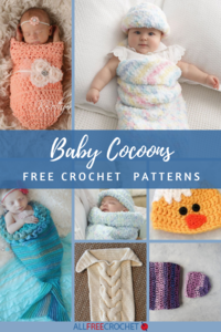 17 Free Baby Crochet Cocoon Patterns