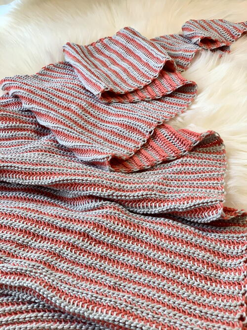 Seeing Stripes Shawl