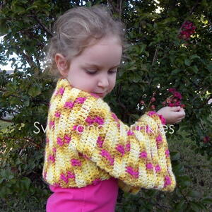 Single Skein Crochet Shrug