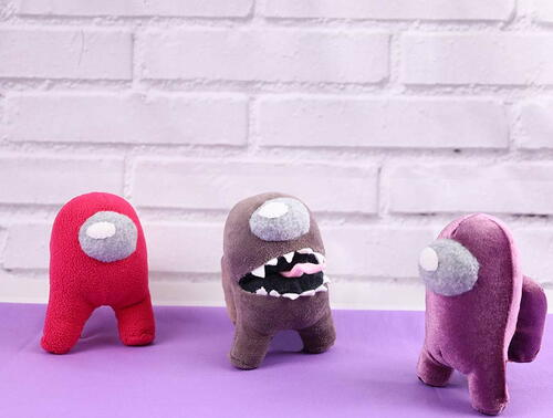 Imposter Plush To Sew For Your Gamer Kid