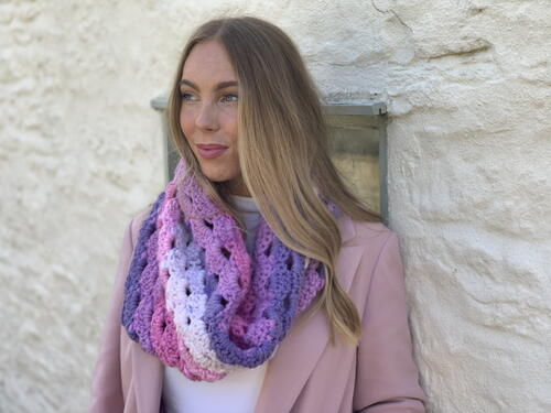 Make With A Cake Cosy Cowl