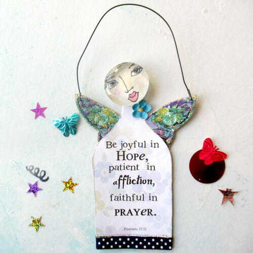 Free Printable Scripture Hanging Doll