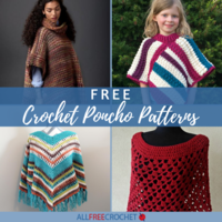 65+ Free Crochet Poncho Patterns