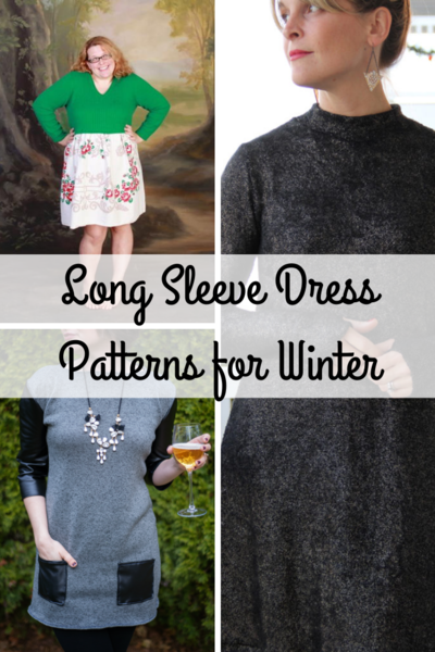 Long Sleeve Dress Patterns for Winter